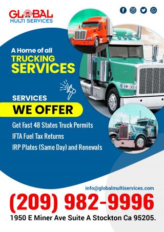 IFTA fuel tax return