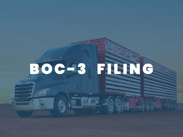 BOC3 FILING