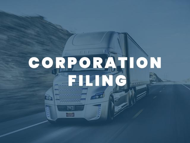 Corporation Filing