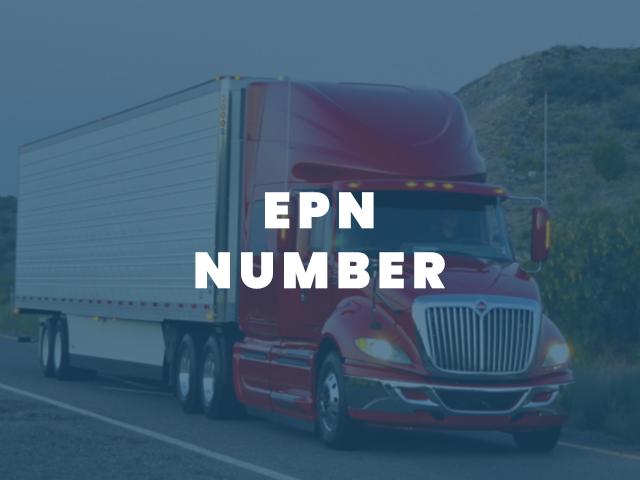 EPN Number