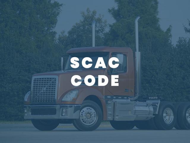 SCAC CODE